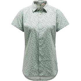 Haglöfs W's Idun SS Shirt Blossom Green Flower